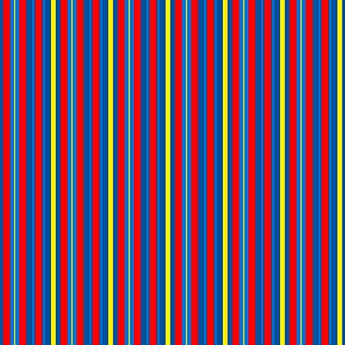 Bright Stripe Fleece (Boys Fabric Paw Power Bright Stripes by Brainsarepretty Printed on Fleece Fabric by the Yard by Spoonflower)