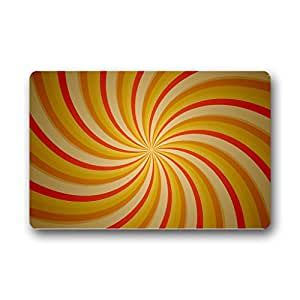 "Custom Color Spirals Doormat Outdoor Indoor 23.6""x15.7"" about 59.9cmx39.8cm"