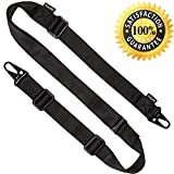 KAYLLE 2-Point Rifle Sling - Premium Shotgun Sling With Upgraded Metal Hook Fits Any Weapon -...