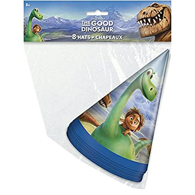 Unique Disney The Good Dinosaur Party Hats, 8 Ct.: Toys & Games