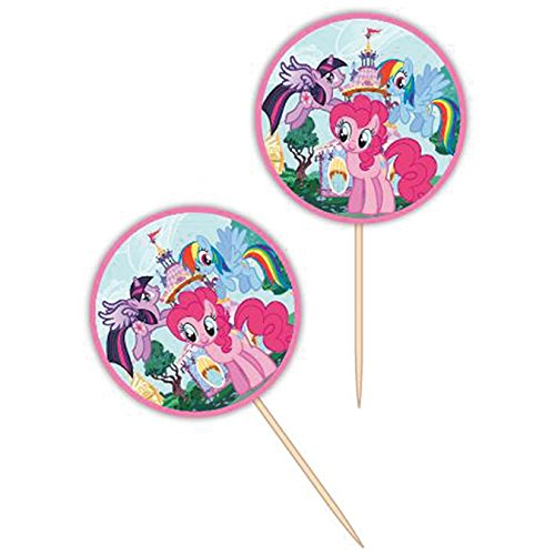 Wilton 2113-4700 24 Count My Little Pony Fun Pix -