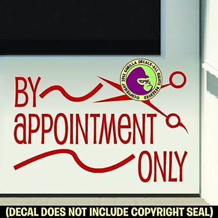 Amazon.com: By Appointment solo pelo peluquería tienda ...