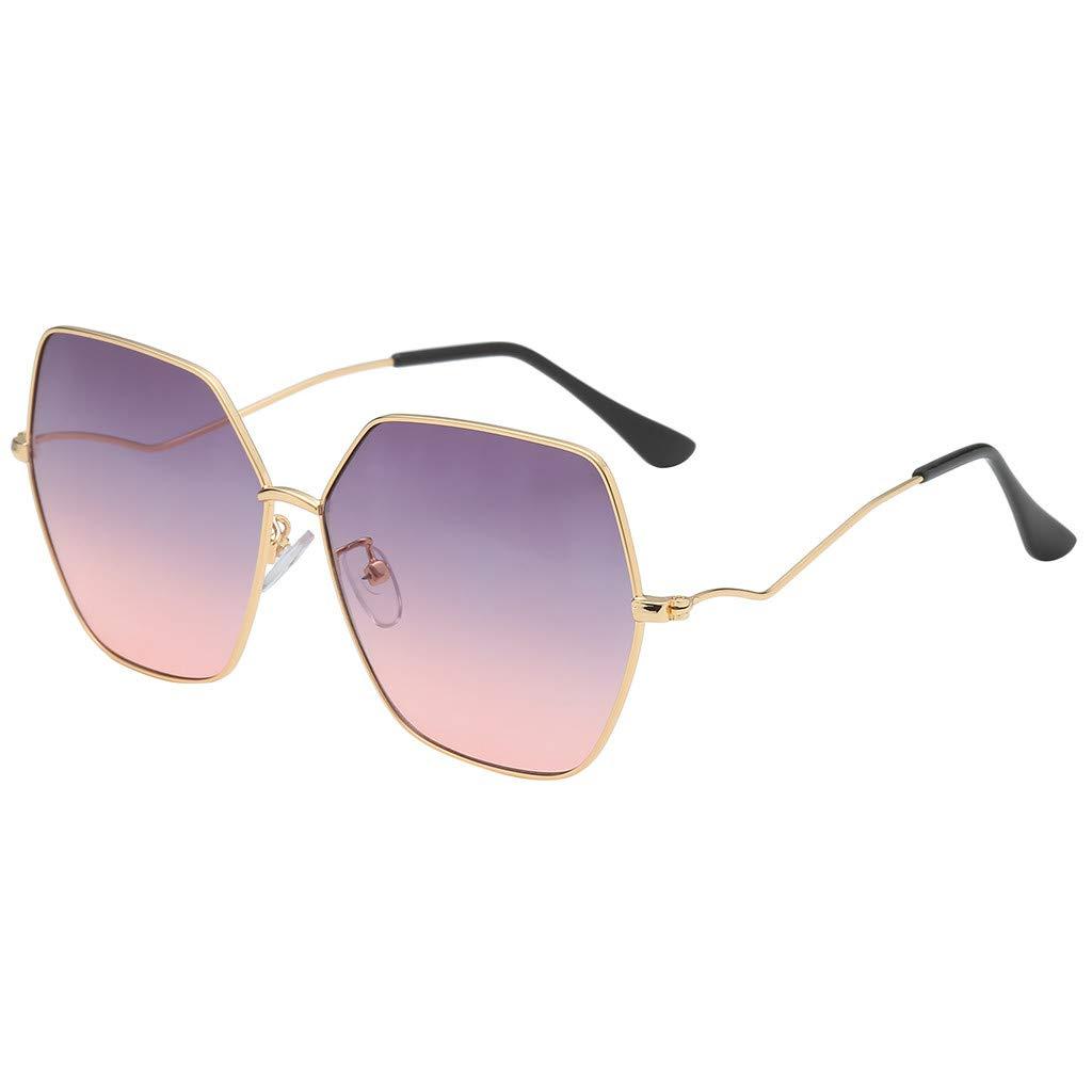 Fabal Fashion Man Women Irregular Shape Sunglasses Glasses Vintage Retro Style