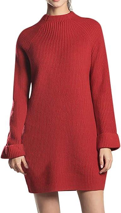 YUELANDE Men O-Neck Long Sleeve Xmas Christmas Print Jumper Pullover Sweater