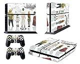EBTY-Dreams Inc. - Sony Playstation 4 (PS4) - Steins Gate Anime Rintarou Okabe,Kurisu Makise, Mayuri Shiina Vinyl Skin Sticker Decal Protector