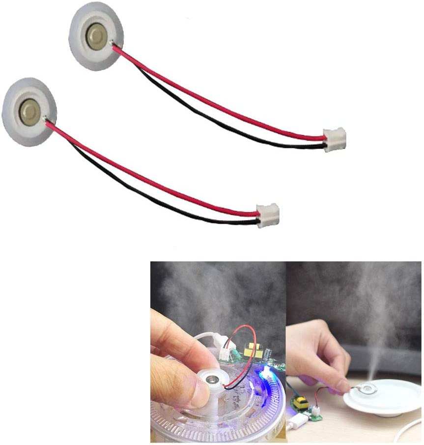 5V D16mm 108KHz Ultrasonic Mist Maker Transducer Ceramic Humidifier Accessories