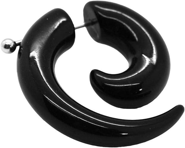 Tumundo 1x Espiral Falso Dilatador Fake Taper Pendiente Piercing ...