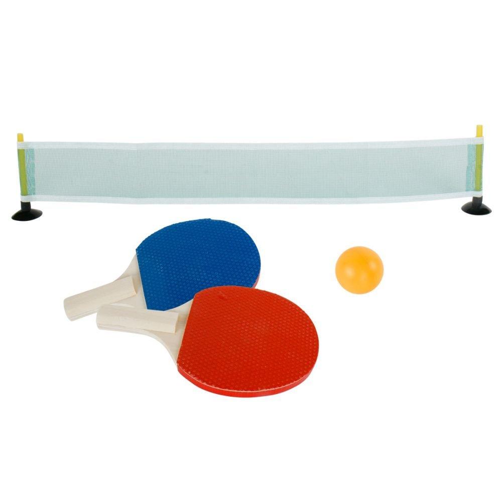 4-tlg.Set Mini -Tischtennis Ping Pong Tischtennisset Annastore
