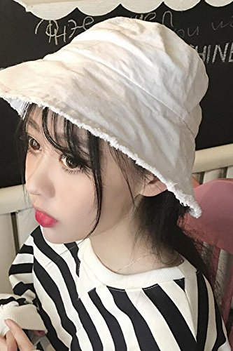 Generic Burr hat cap women girls lady Korean version of the new School of wind hat cap solid color simple Beautiful sun shade large brimmed hat cap man boy pots