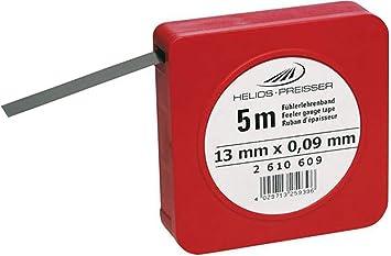 Fühlerlehrenband rostfrei 0,7 x 12,7 x 5000 mm Fühlerlehre Federstahlband