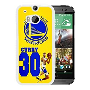 Popular HTC ONE M8 Case, Beautiful Designed Case With golden state warriors 02 White HTC ONE M8 Cover