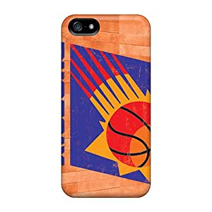 Protective Hard Phone Case For Apple Iphone 5/5s With Customized High-definition Phoenix Suns Skin AlainTanielian