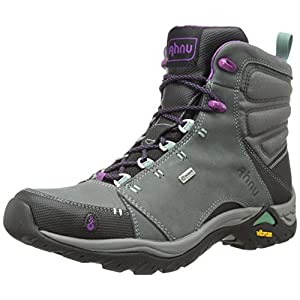 Ahnu Women's Montara Rain Boot, Dark Grey, 9 M US