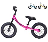 Banana Bike GT - Balance Bike for Kids (Candy Pink)