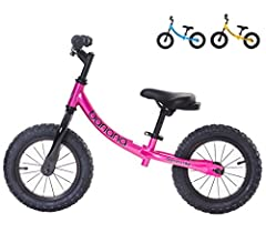 The ideal way to get your kids out and about. The Banana Bike's banana shaped frame makes it easy for small kids to use, to hop on and off. The puncture proof tyres, mean you never have to worry about inflating these tyres. The candy paint co...