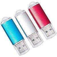 DAILUMI 32GB USB 2.0 Flash Drives, 3 Packs Memory Stick...
