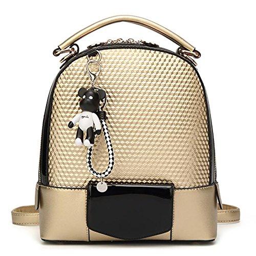 de souple sac 24 à multifonctionnel mode PU occasionnel sac cuir en Sac 5 28cm femmes de main à 12 dos dqx7dzpwR