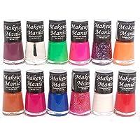 Makeup Mania Daily Wear Nail Polish Combo in 12 Classy Nail Paint Enamel Shades (Multicolor No.77)
