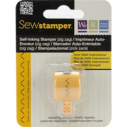 We R Memory Keepers Sello Rotatorio Sew Stamper Zigzag Project Life 71262-6