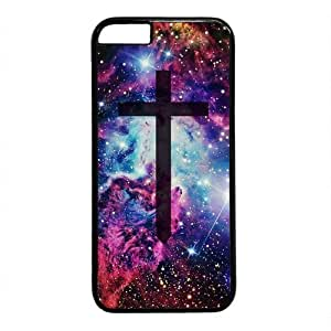 Galaxy Space Universe Cross Theme Hard Back Cover Case For Iphone 6 (4.7inch)