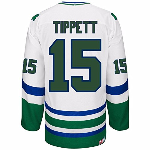 Dave Tippett Hartford Whalers NHL Reebok Men s White Name   Number Player   15 Jersey outlet 832ff6d4f