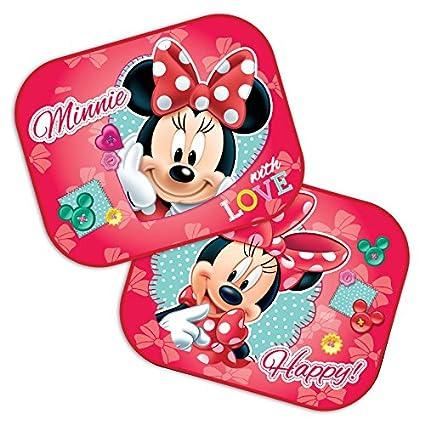 Parasol para el coche con diseño de Disney Minnie Mouse 44x 35 cm, 2 ...