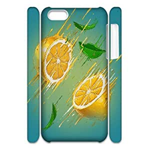 3D {Lemon Series} IPhone 5C Cases Vitamin Lemon Bomb, Case Jumphigh - White