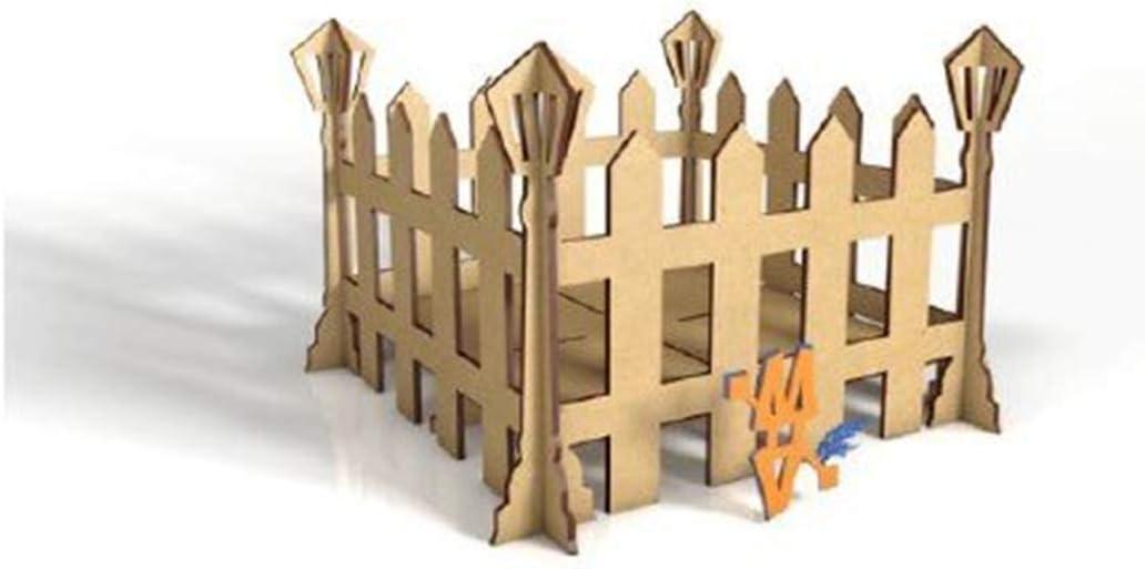 Kit para hacer cerco Farol/Bandeja 30X30X20cm de madera DM para ...