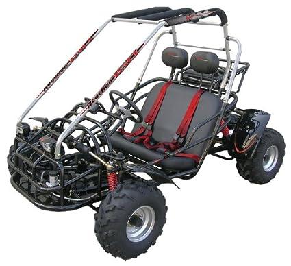amazon com baja motorsports br150 baja reaction 150 go kart black rh amazon com