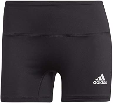 Deshabilitar Educación Entrelazamiento  Amazon.com : adidas Women's 4-Inch Compression Fit Quarter Length  Volleyball Performance Yoga Short Tights : Clothing