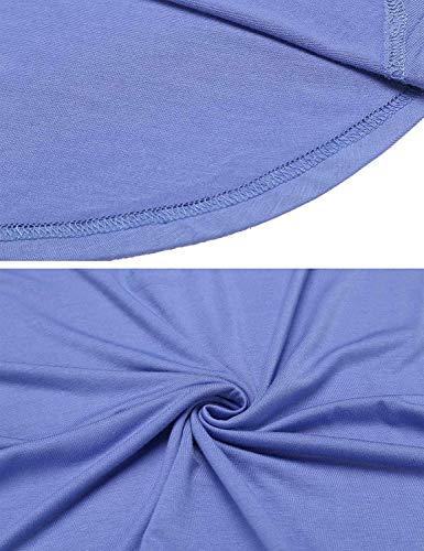 Moda Camisas Sólido Verano Mujer con Color Festivo Vintage Cordones Camisetas Blusas V Shirts Fit Ropa Grün Moda Manga Basicas Slim Cuello Corta Coat Joven Tops Elegantes tx7w1w