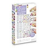 Crayola Sticker Doodle Nail Art Kit, Gift for Girls and Tweens, Ages 6,7, 8  and Up, Holiday Toys, Stocking Stuffers, Arts and Crafts