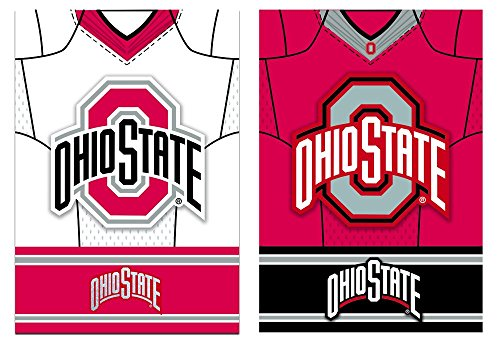 Team Sports America Ohio State Buckeyes Double Sided Jersey