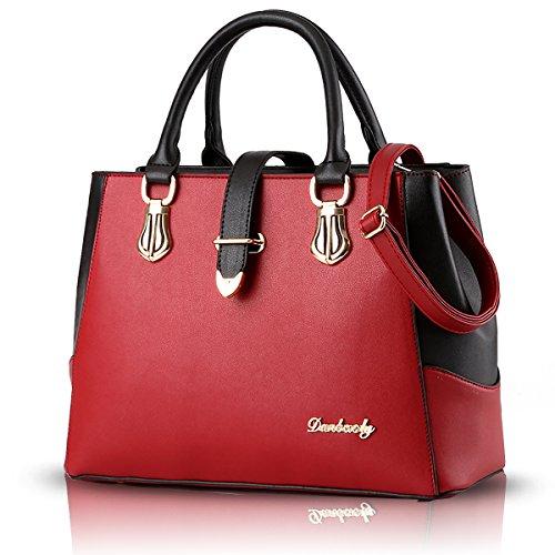 Sunas Shoulder bag Messenger bag 2017 spring and summer new black and white splicing handbag ladies fashion ladies bag