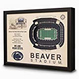 NCAA Penn State Nittany Lions - Beaver Stadium Stadiumview Wall Art, One Size, Birch Wood