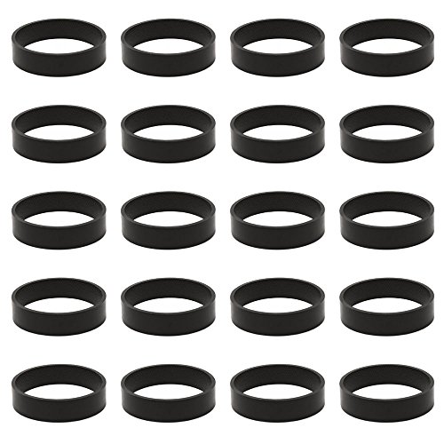 Mumaxun Replacement 301291 fits Kirby Belt, 20pcs Vacuum Cleaner Belts for All Kirby Vacuums & Shampooers - All Generation Series Models G3 G4 G5 GSix G7 Ultimate G Diamond Sentria Avalir