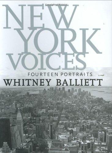 Download New York Voices: Fourteen Portraits ebook