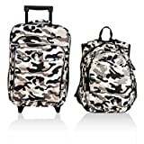 Obersee Little Kids Luggage Set, Camo For Sale