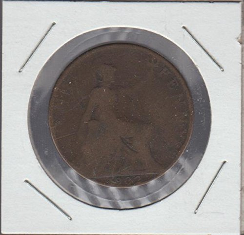 1902 One Penny (1902 United Kingdom Classic Head Penny)