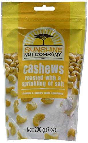 - SUNSHINE NUT COMPANY CASHEWS RSTD SALTED