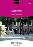Evidence, The City Law School, 0199657343