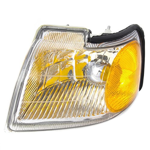 CarPartsDepot 96-97 Ford Thunderbird Front Driver Side Left Corner Signal Light Lamp