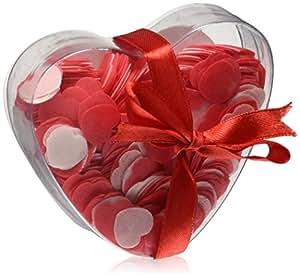 Genérico - Confeti de baño corazones grandes