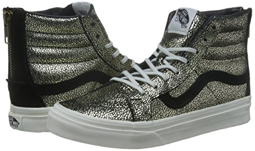 Vans Sk8-Hi Slim Zip Gold Dots Sneaker Damen