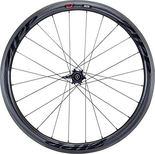 Zipp 303 Firecrest Carbon Clincher Road Wheel Black, Rear, SRAM/Shimano (Rear Clincher Wheel)