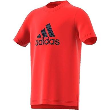 adidas Prime Log RGE MC Tee jr - Tee Shirt Manches Courtes  Amazon.fr   Sports et Loisirs a0fe9ffaf46