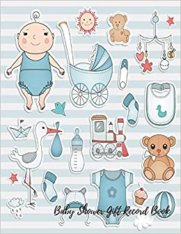 Baby Shower Gift Record Book Baby Shower Gift Log Journals For All