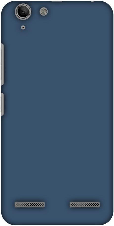 AMZER Slim Handcrafted Designer Printed Hard Shell Case Back Cover for Lenovo Vibe K5/ K5 Plus - Olympic Blue