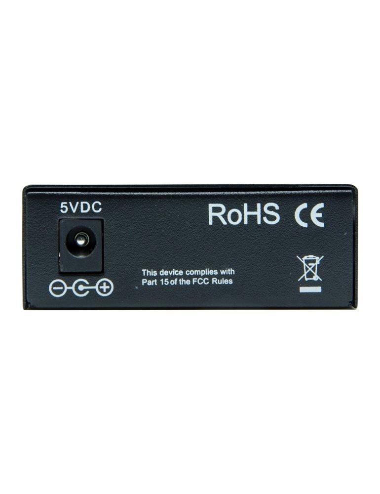6COM Gigabit Ethernet Media Converter, 10/100/1000Base-TX to 1000Base-FX SFP Slot, without Transceiver by 6COM (Image #3)