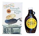 frozen belgian waffles - Trader Joe's Gluten Free Pancake Mix & Maple Syrup